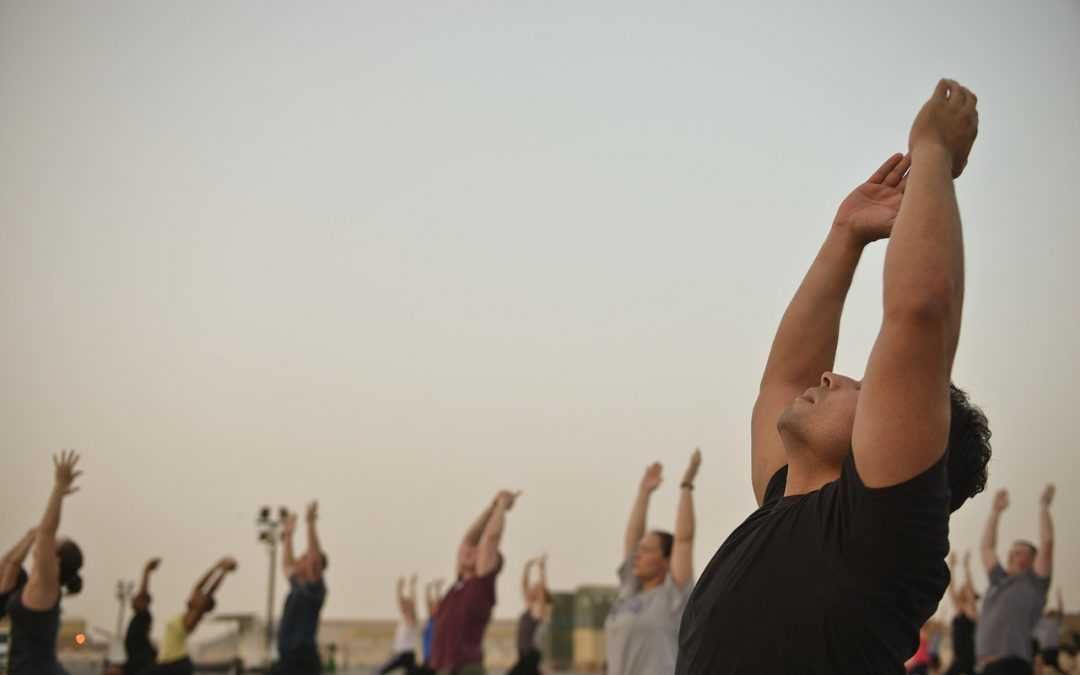 More Men In Singapore Reaping Benefits Of Yoga
