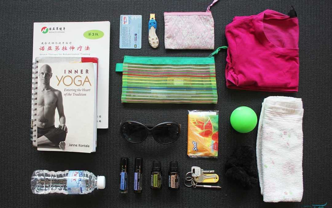 What's In Our Instructor's Bag?  ft. Hazel
