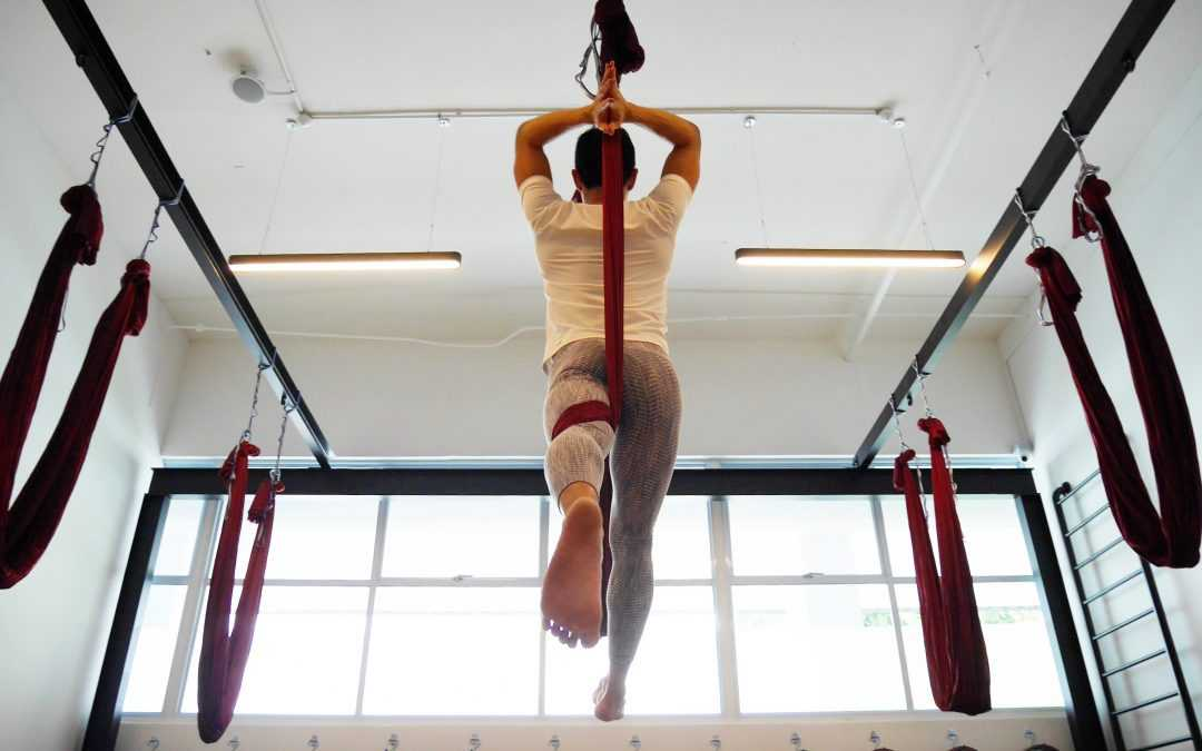 Ready to take Yoga TT? Upgrade to be an Aerial Yoga Teacher!
