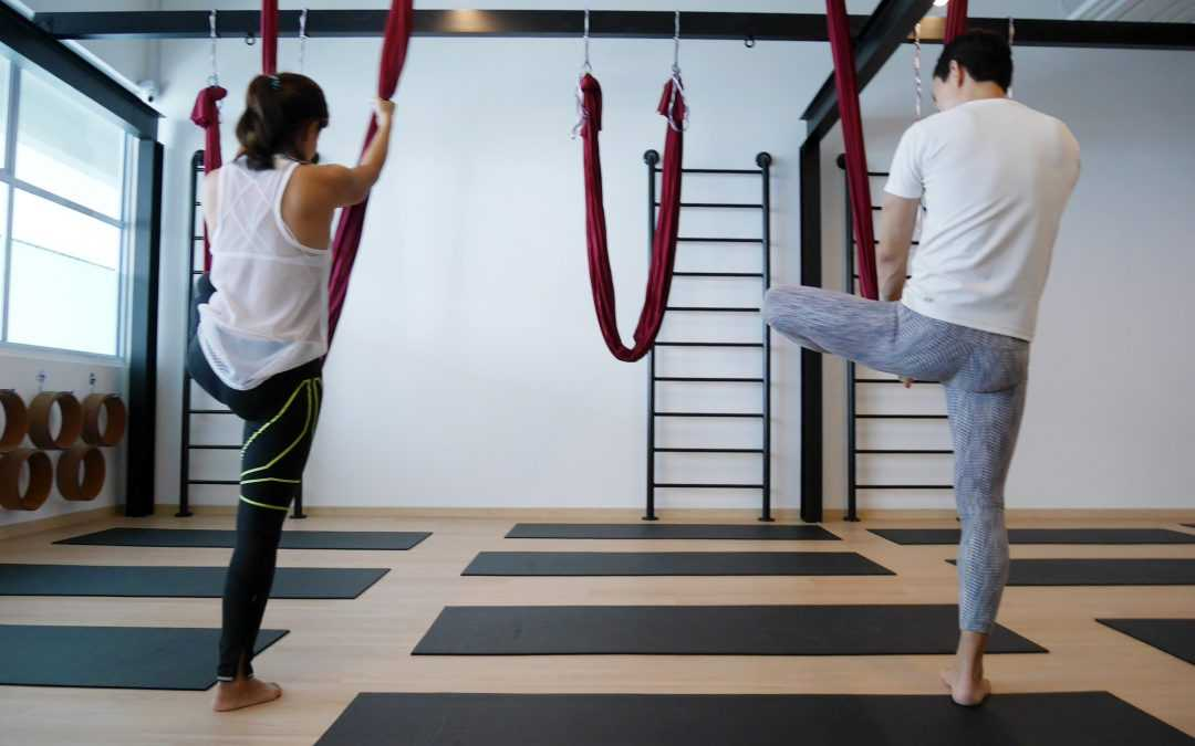 Aerial Yoga: The Must-do Yoga for Stiff Office Workers