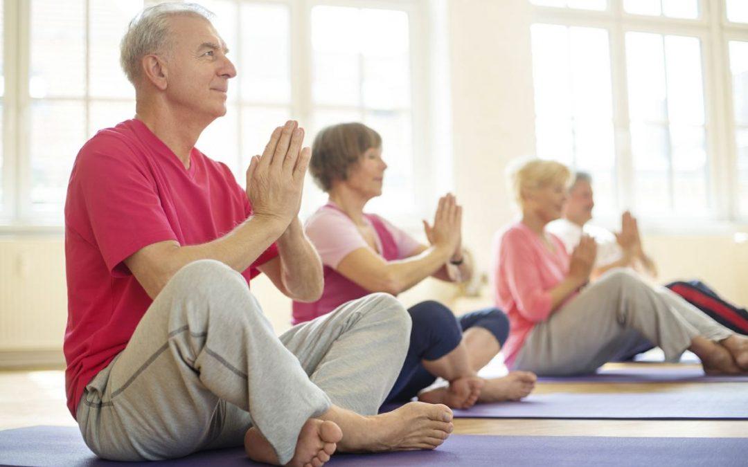 Yoga For Senior: Walk further, be happier, live fuller!