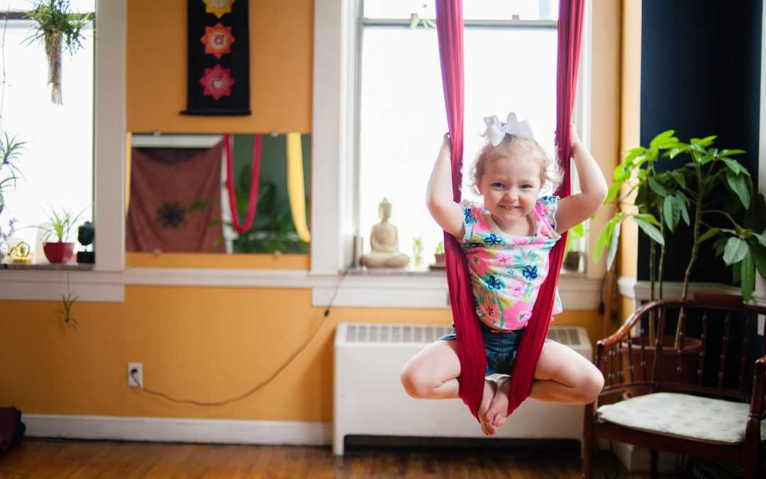 *NEW DATE ADDED!* Junior Flyer Course (Kids Aerial Yoga)