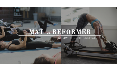 Know The Difference: Mat Vs. Reformer Pilates