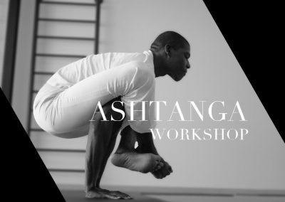 Ashtanga Workshop with KPJAYI instructor Nnadi Harriott