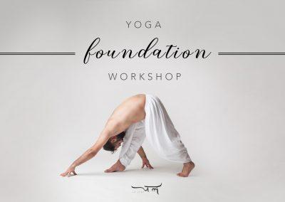 Yoga Foundation Workshop Series | Jal Yoga