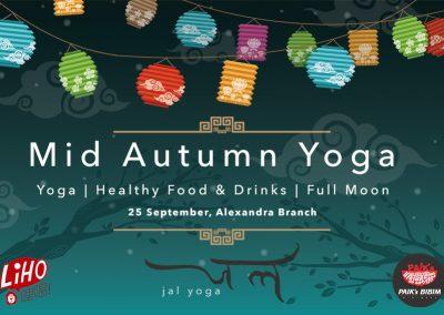 Mid-Autumn Yoga | Jal Yoga x Paik Bibim x LiHO