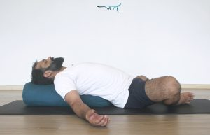 Restorative Yoga | Reclining Bound Angle Pose | Jal Yoga Instructor