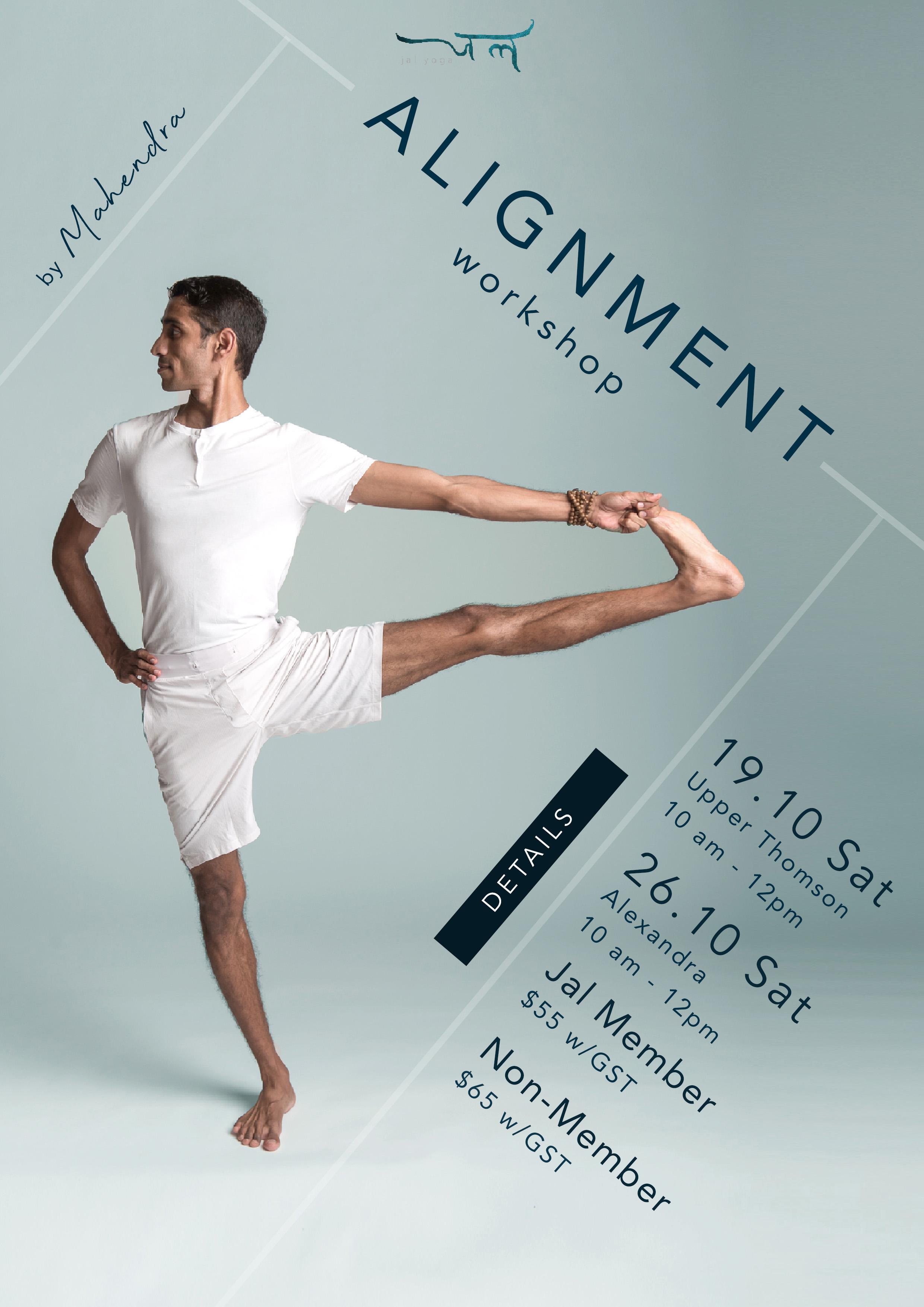 Alignment Workshop | Jal Yoga