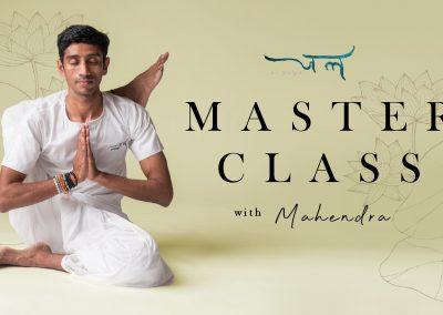 Instructor Doing Yoga | Half Lotus Pose