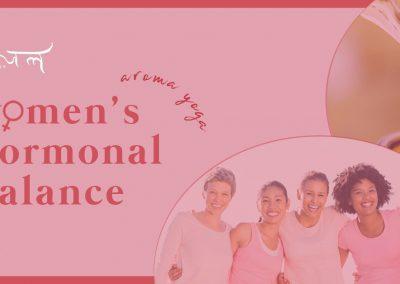 Aroma Yoga Workshop for Women's Hormonal Balance (Feb'20)