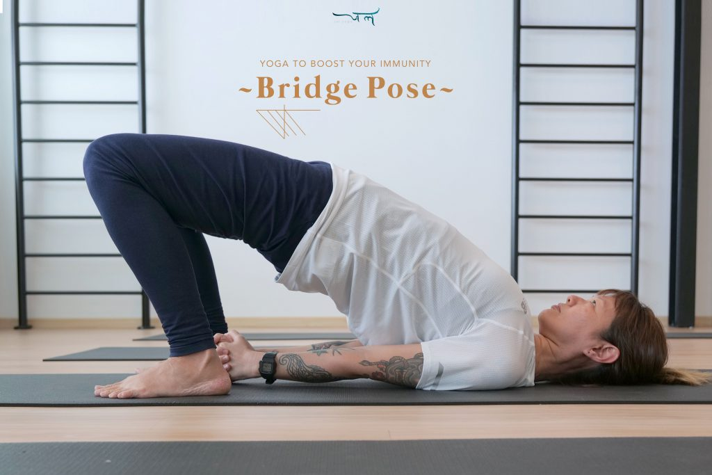 Boost Your Immunity with these 5 Yoga Poses | Bridge Pose