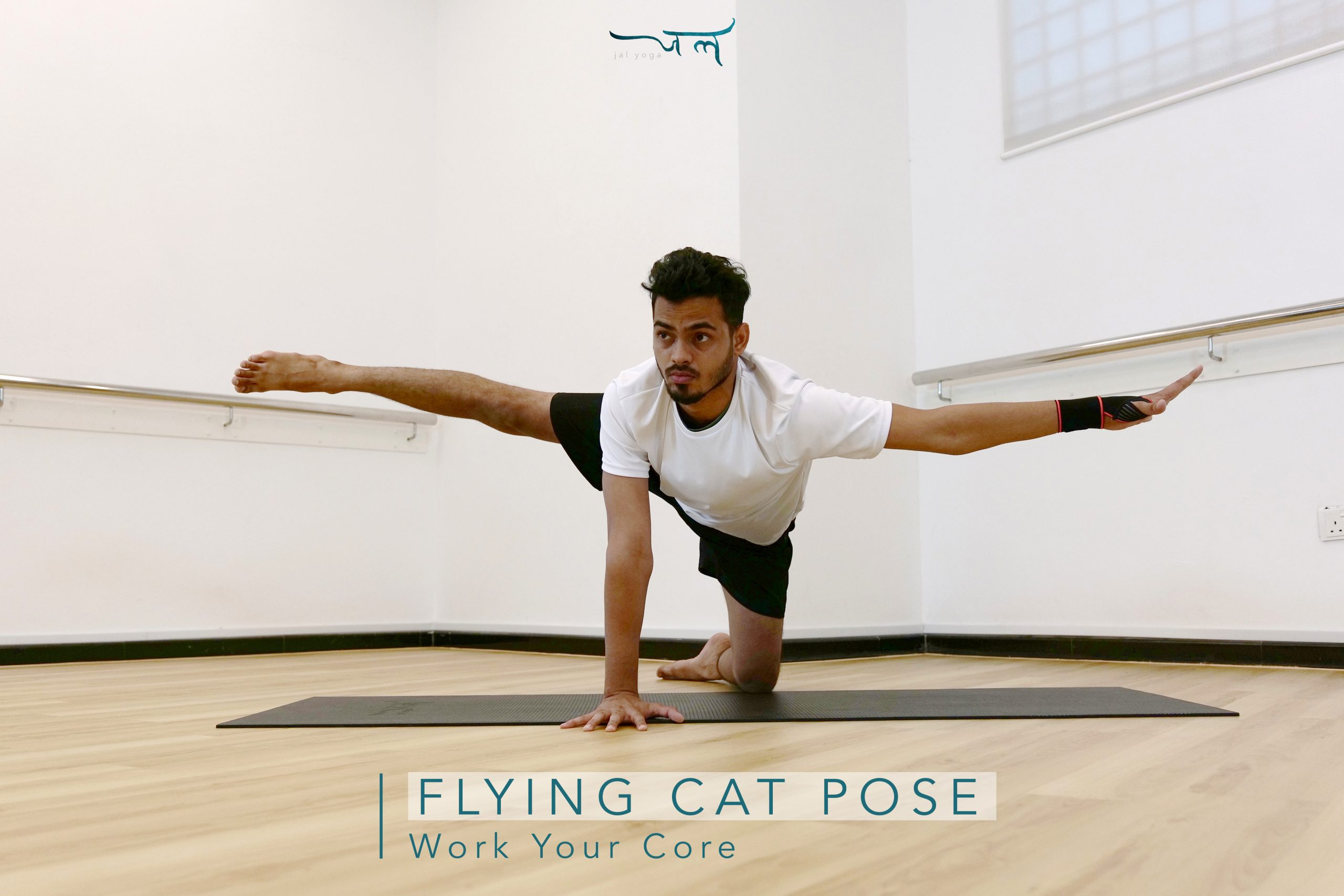 Flying Cat Pose | Core Workout at Home To Flatten Your Belly
