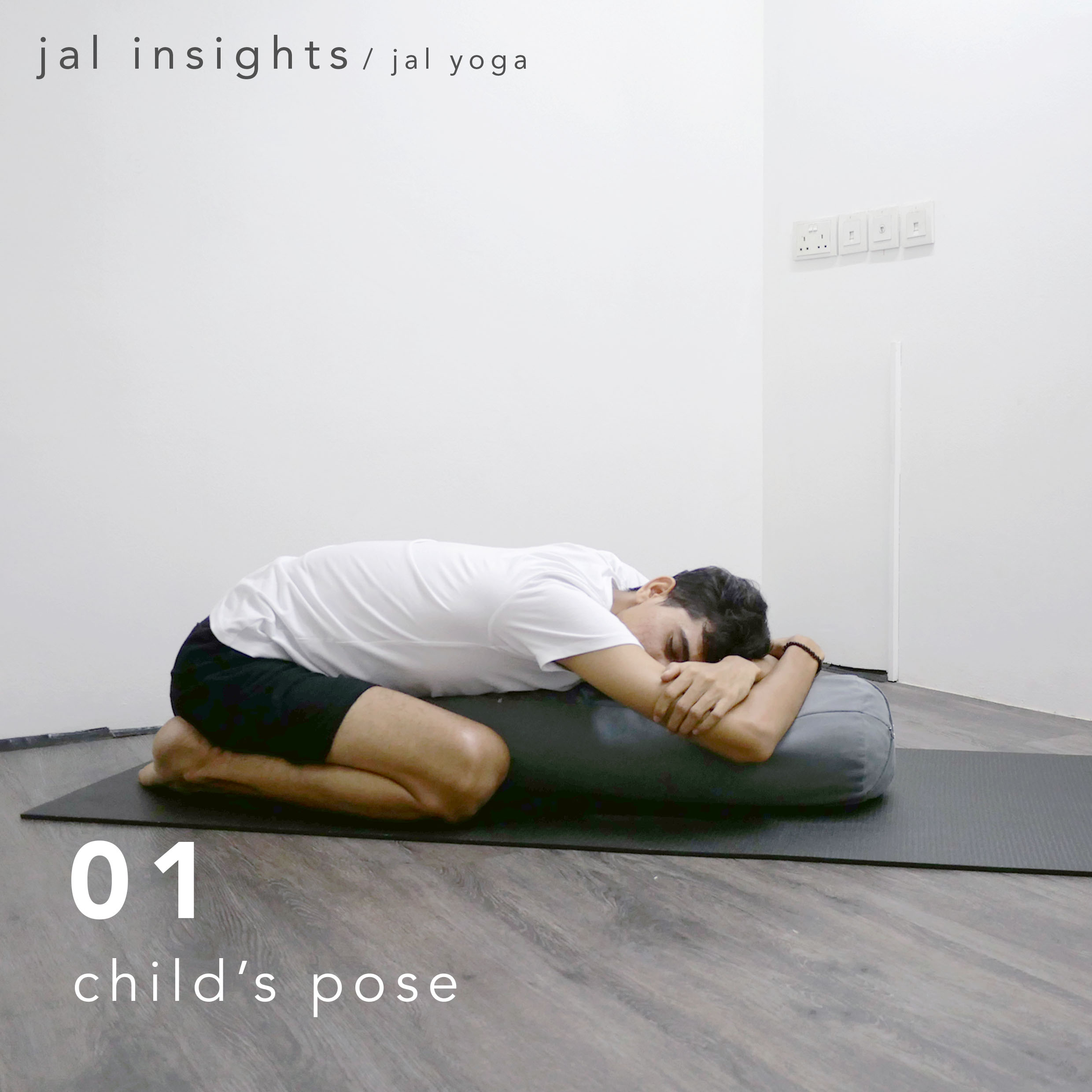 Yin Yoga for Anxiety and Stress | Jal Yoga | Child's Pose