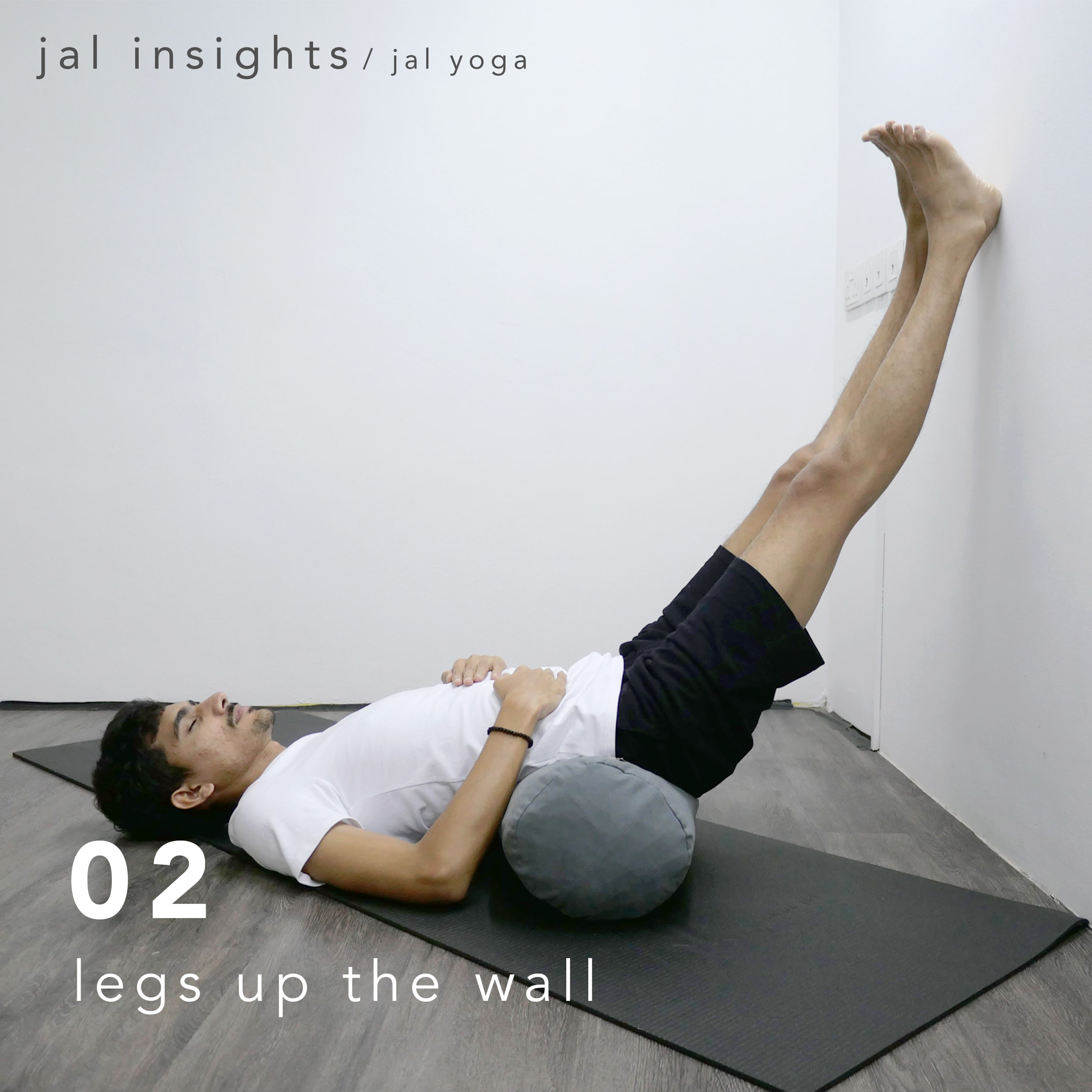 Yin Yoga for Anxiety and Stress | Jal Yoga | Legs Up The Wall Pose