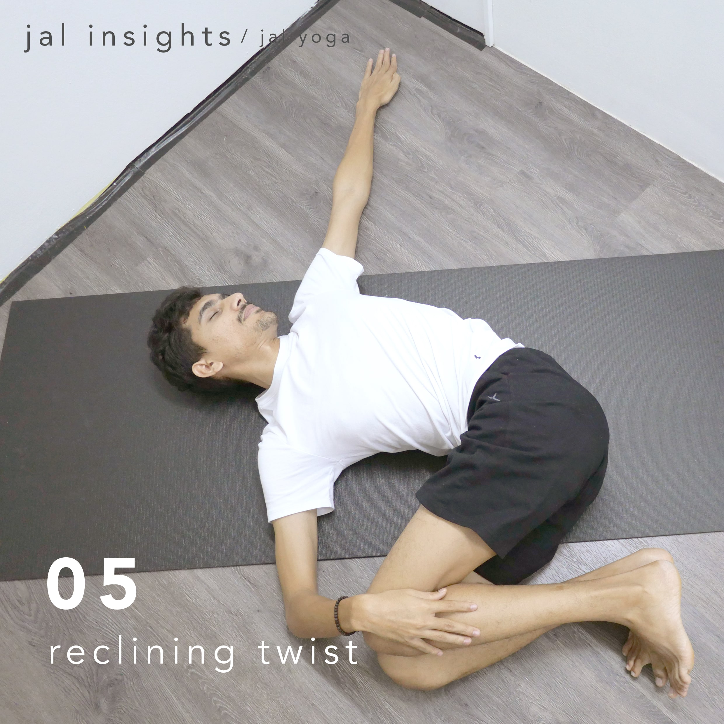 Yin Yoga for Anxiety and Stress | Jal Yoga | Reclining Twist
