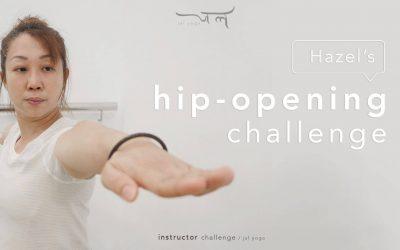 Hazel's Hip-opening Challenge | Instructor Challenge