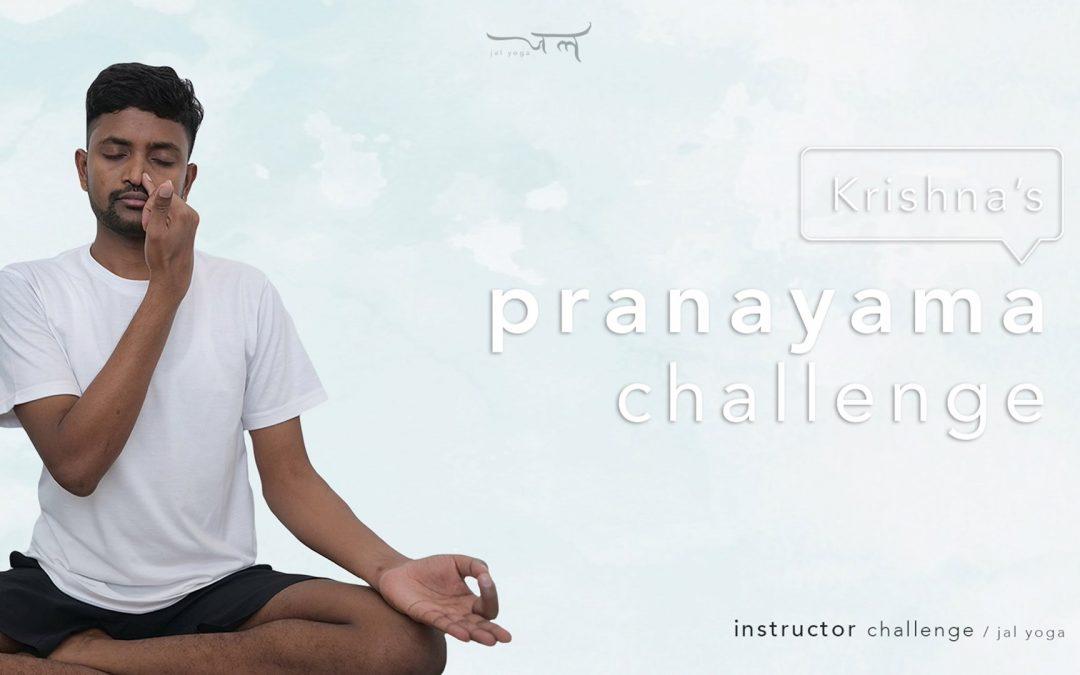 Krishna's Pranayama Challenge | Instructor Challenge