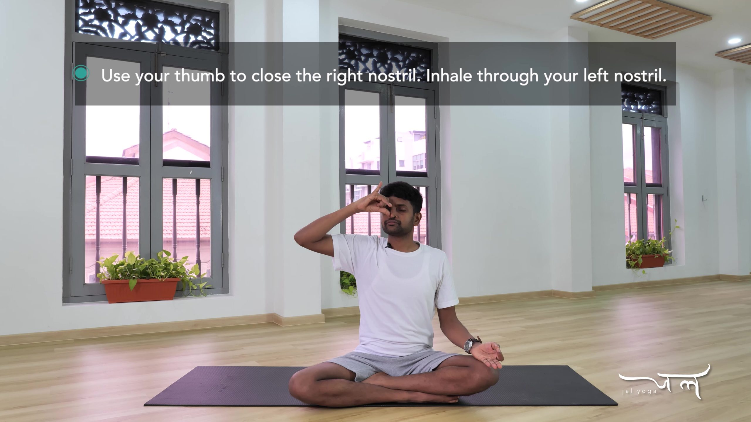 Alternate Nostril Breathing   Yoga Therapy for Better Sleep   Manage Sleep Disorders