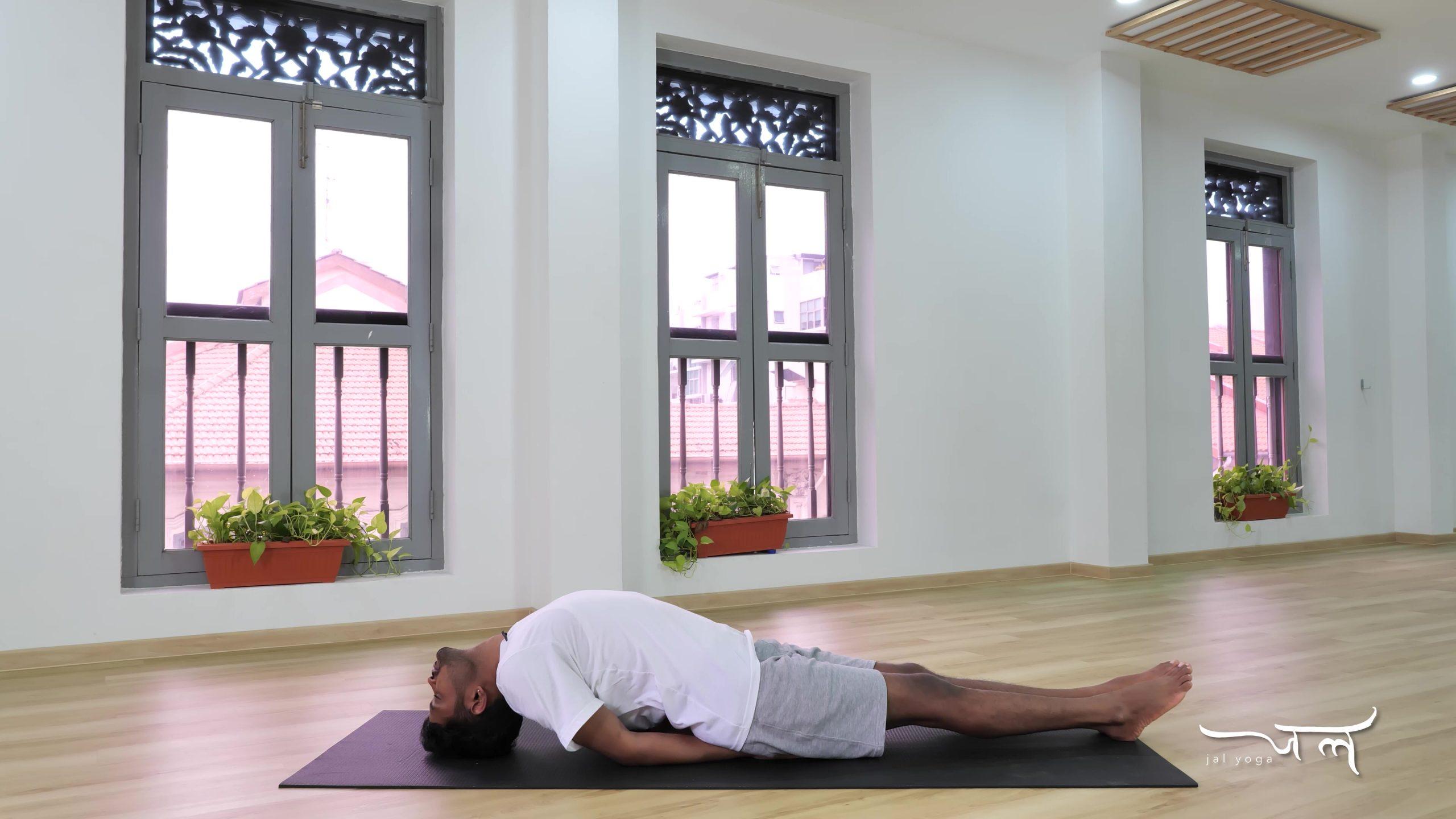 Fish Pose   Yoga Therapy for Better Sleep   Manage Sleep Disorders