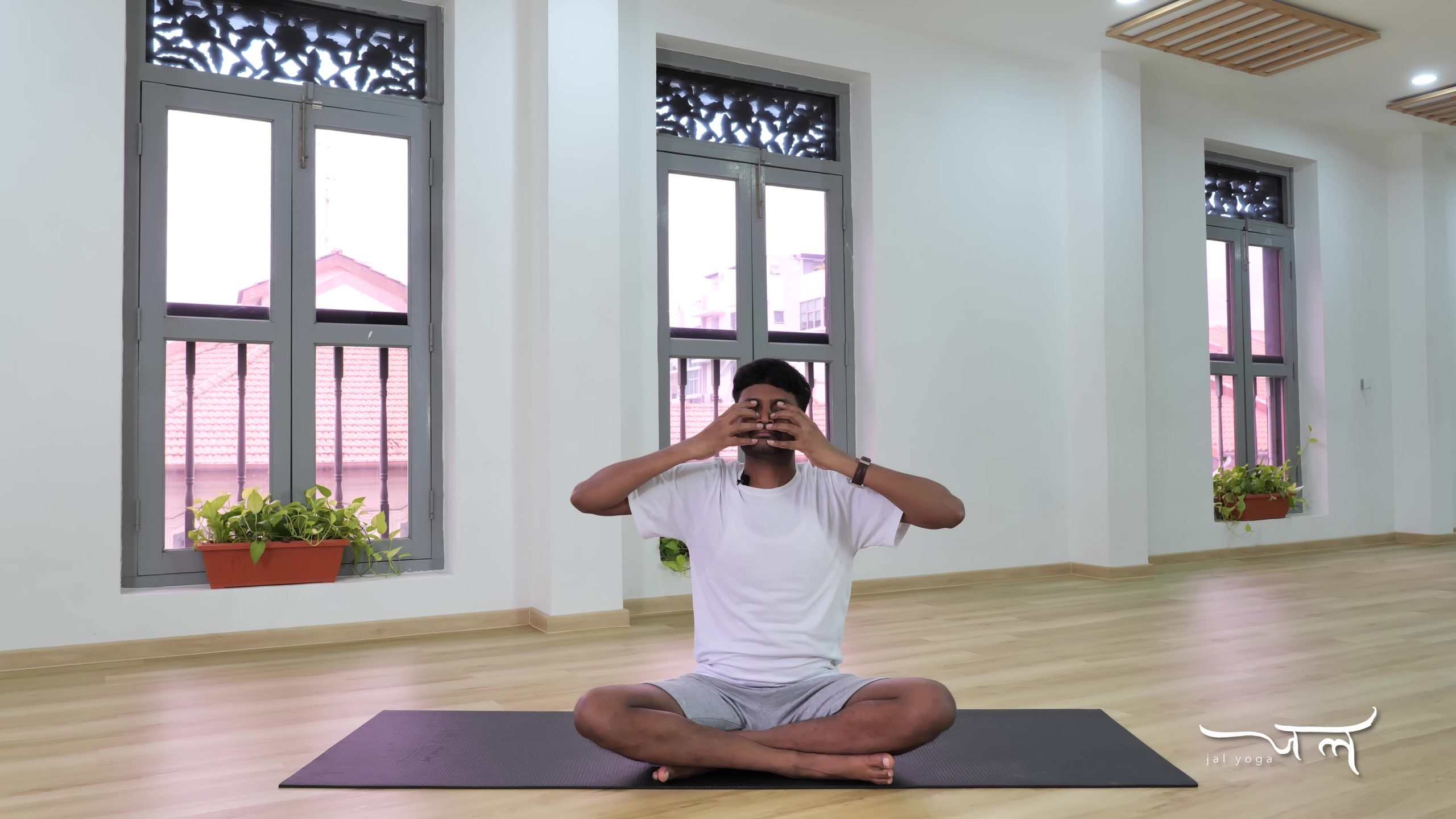 Humming Bee Breathing   Yoga Therapy for Better Sleep   Manage Sleep Disorders