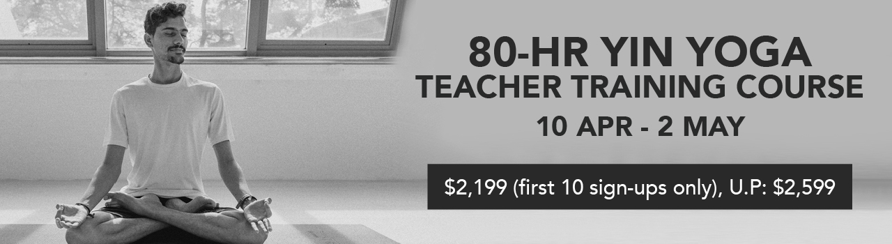 For those of you who are already a regular practitioner, if you're looking to deepen your practice in this meditative form of yoga, join us in our upcoming 80-Hr Teacher Training Course.