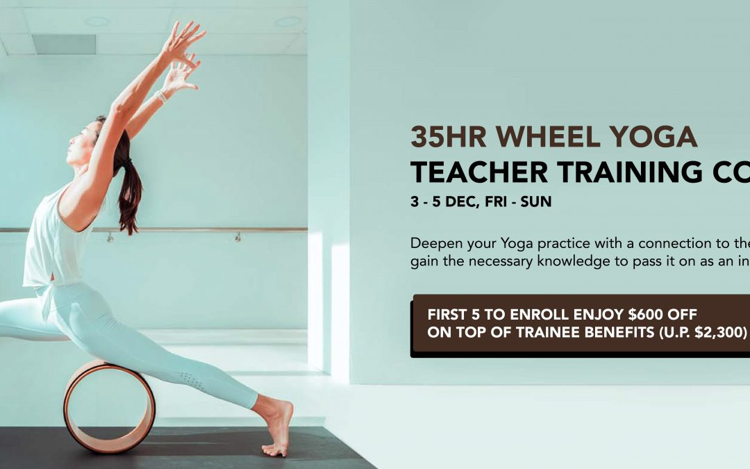 35hr Wheel Yoga Teacher Training Course