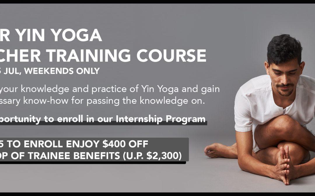 80hr Yin Yoga Teacher Training Course