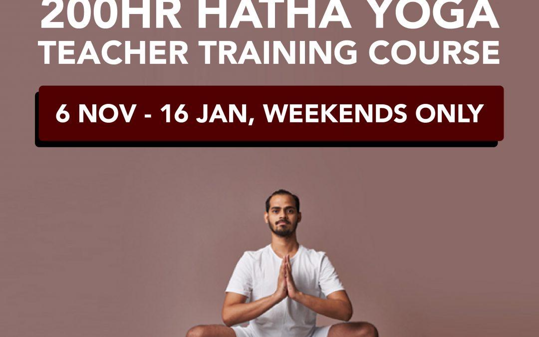200hr Hatha Yoga Teacher Training Course